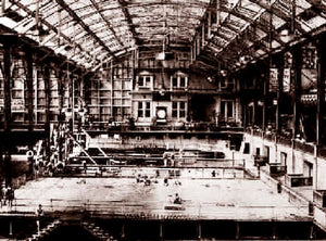 Sutro Baths (interior with pools) (H) 1900