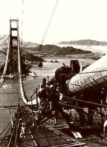 Building The Golden Gate 1935