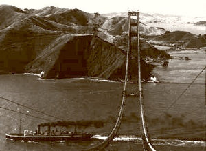 Building The Golden Gate The Pacific Fleet 1935