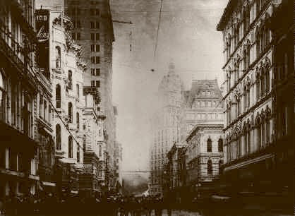 San Francisco Fire Kearny From California Street 1906