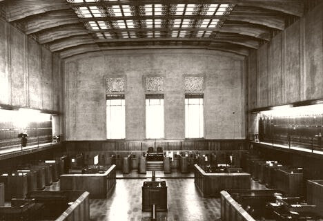 SAN FRANCISCO STOCK EXCHANGE, NEW DAY 1937