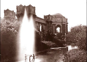 Palace Of Fine Arts Statues 1915