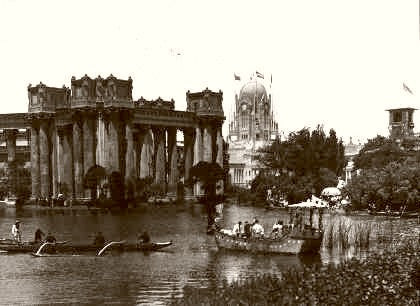 Palace Of Fine Arts San Francisco 1915