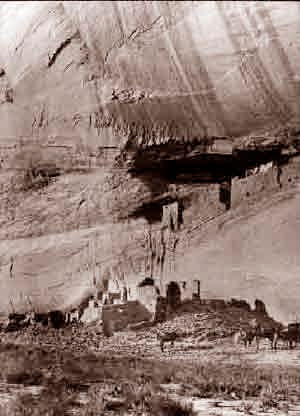Arizona Spider Ruins In Canyon De Chelly 1860