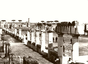 Forum Of Pompeii 1890