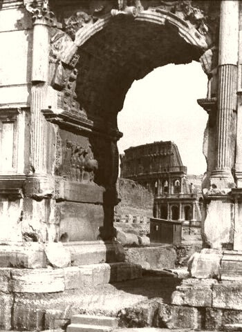 Rome The Colosseum 1900