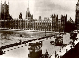 London Parliament 1910