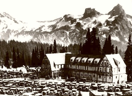 Mount Rainier Washington 1925