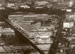 Washington D.C. The Federal Triangle 1938