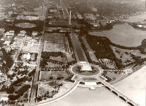 Washington D.C. Above The Capitol 1935