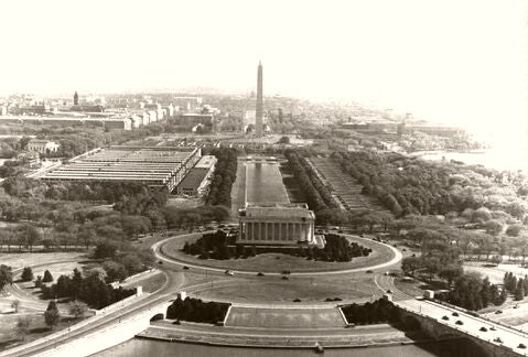Washington D.C. Above The Capital 1935