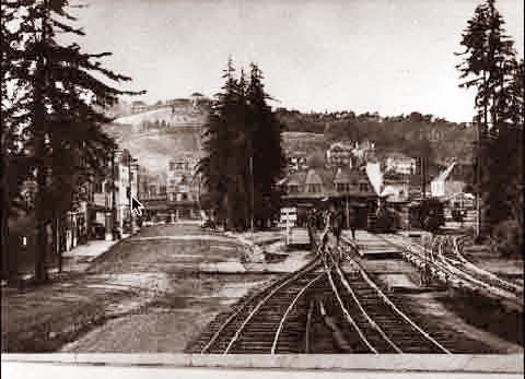 Mill Valley The Train Depot 1925