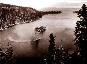 Lake Tahoe Emerald Bay (H) 1910