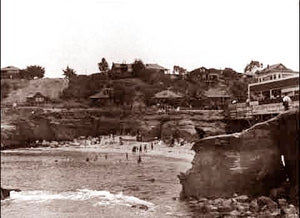 La Jolla The Beach 1895