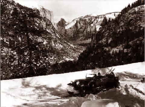 Yosemite Half Dome (Convertible with Skis) 1936