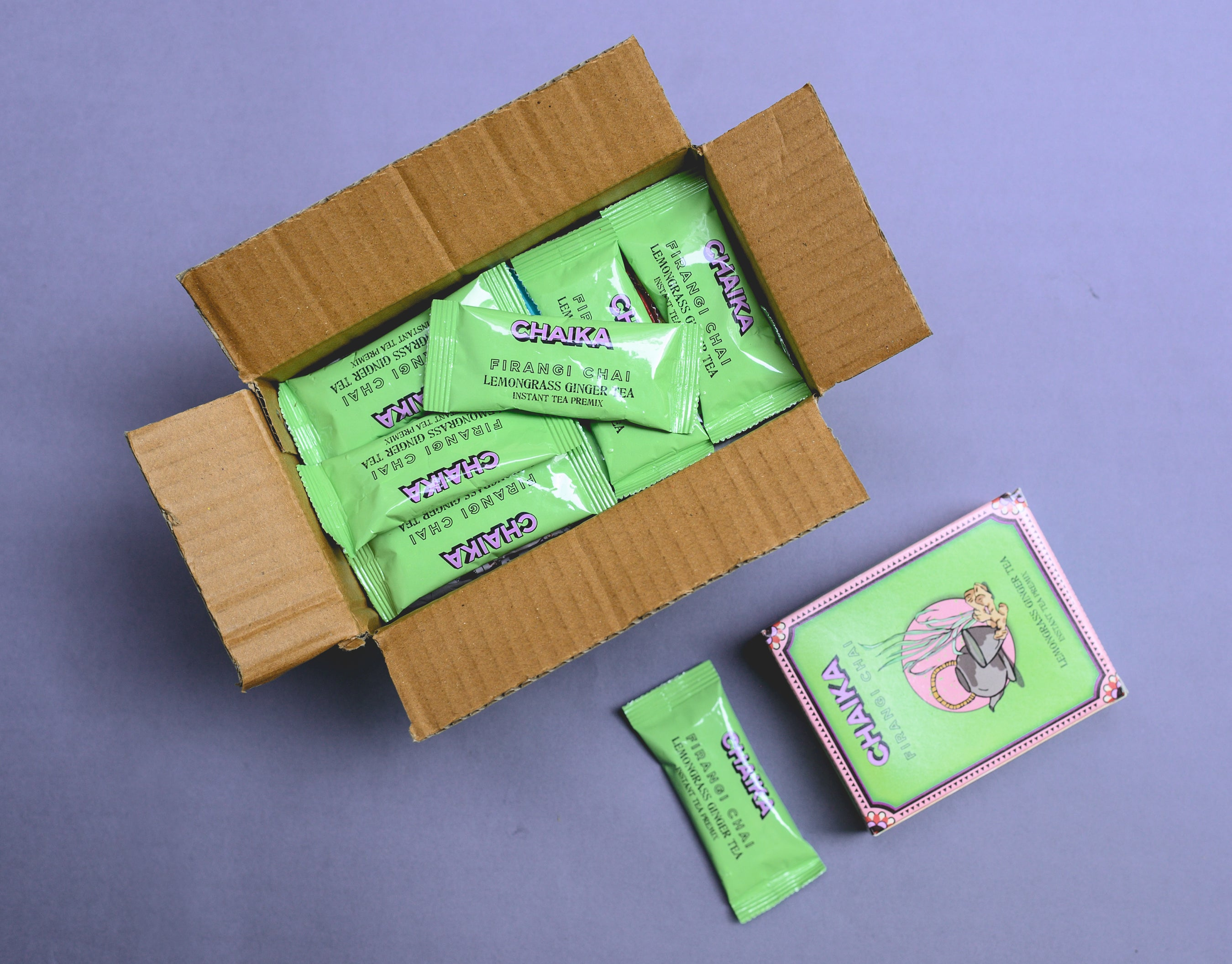 Premium Teas Packs for Gifting | Lemongrass Ginger Tea Pack | Chaika
