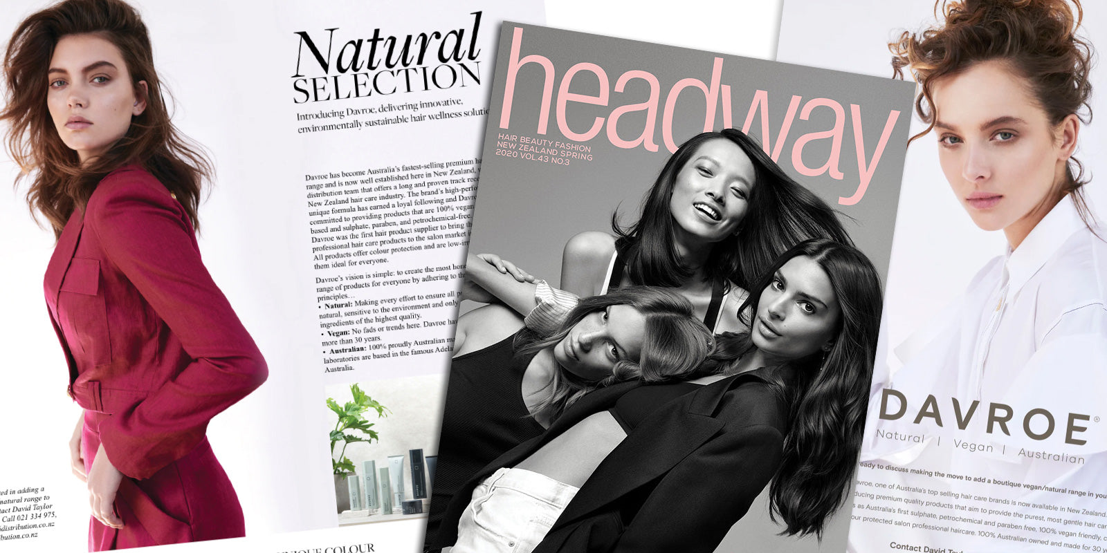 Davroe NZ with Headway Magazine