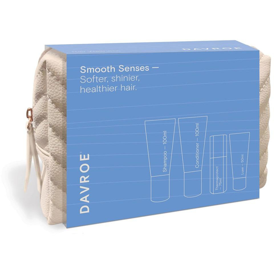 Davroe Travel Quad Pack - Smooth / Shampoo, Conditioner & Treatments