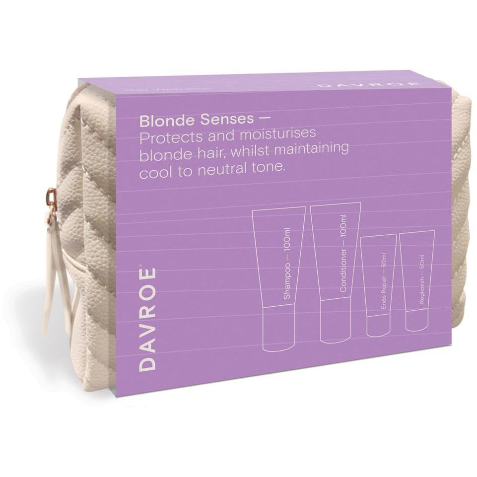 Davroe Travel Quad Pack - Blonde / Shampoo, Conditioner & Treatments