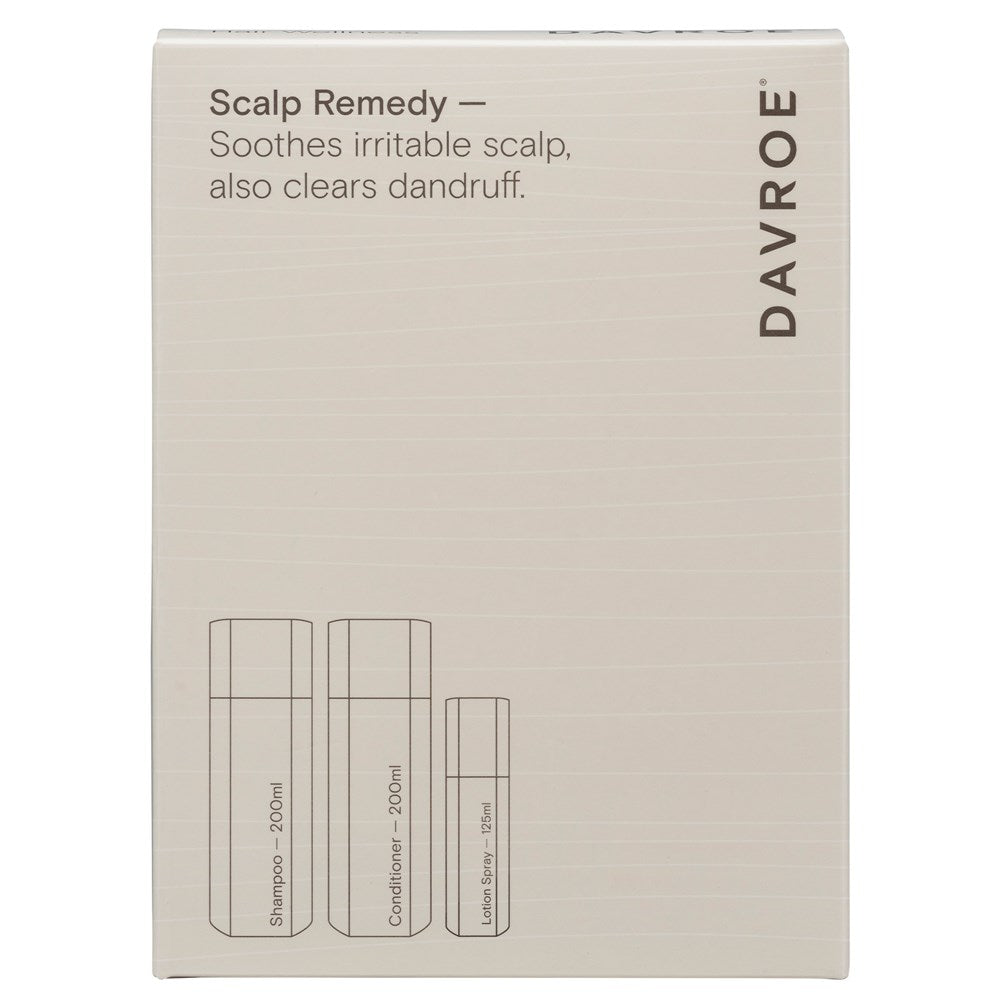 Davroe Scalp Remedy Trio Packs / Clears Dandruff & Soothes Scalp