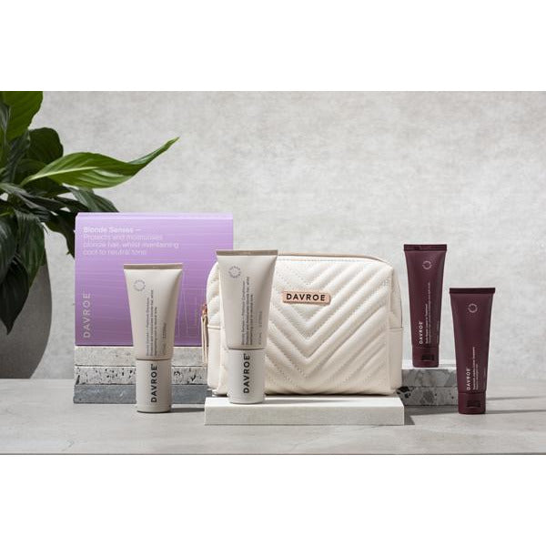 Davroe Mini Gift Quad Pack - Blonde / Shampoo, Conditioner & Treatments