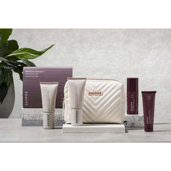 Davroe Mini Gift Quad Pack - Moisture / Shampoo, Conditioner & Treatments
