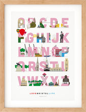 Load image into Gallery viewer, Bristol Alphabet Print