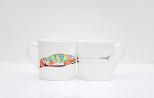 Chameleon Bone China Mug