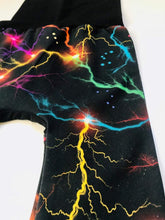 Load image into Gallery viewer, Organic Electric Skies Grow with me Pants