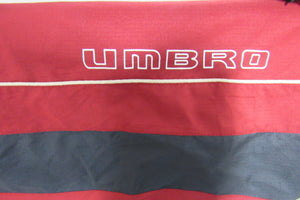 Umbro Red and Blue Retro Tracksuit Jacket 80s/90s