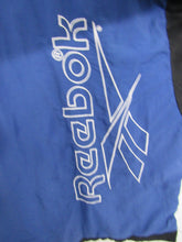 Load image into Gallery viewer, Retro Reebok Jacket Blue and Black 80s-90s