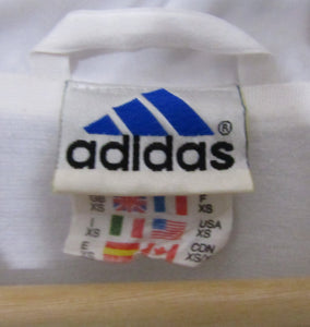 Retro Adidas White Jacket 80s-90s