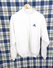 Load image into Gallery viewer, Retro Adidas White Jacket 80s-90s