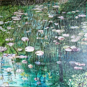 Reflection On Waterlilies