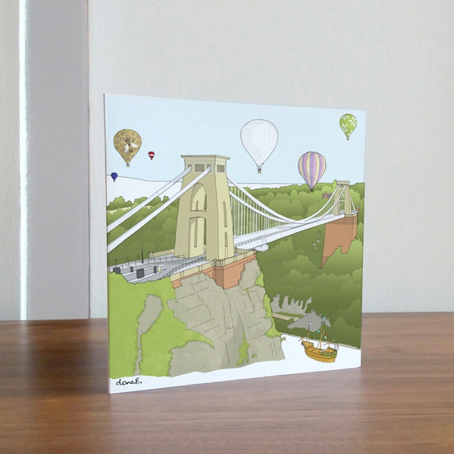 Card - Gorgeous Bristol by dona B drawings