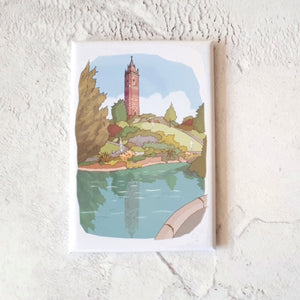 Magnet - Cabot Tower by dona B drawings