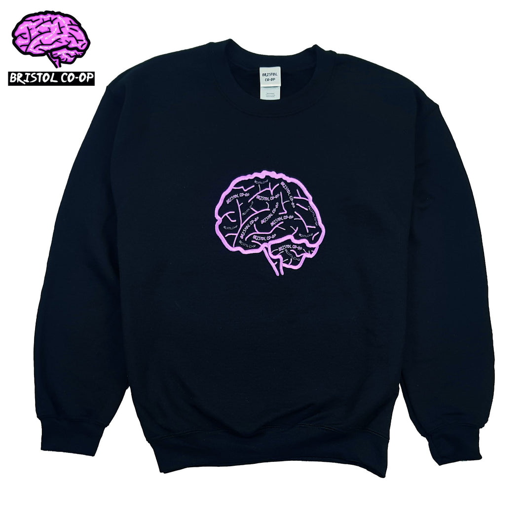 Kid's/Youth/Children's Bristol Co-Op Brain Logo Sweatshirt