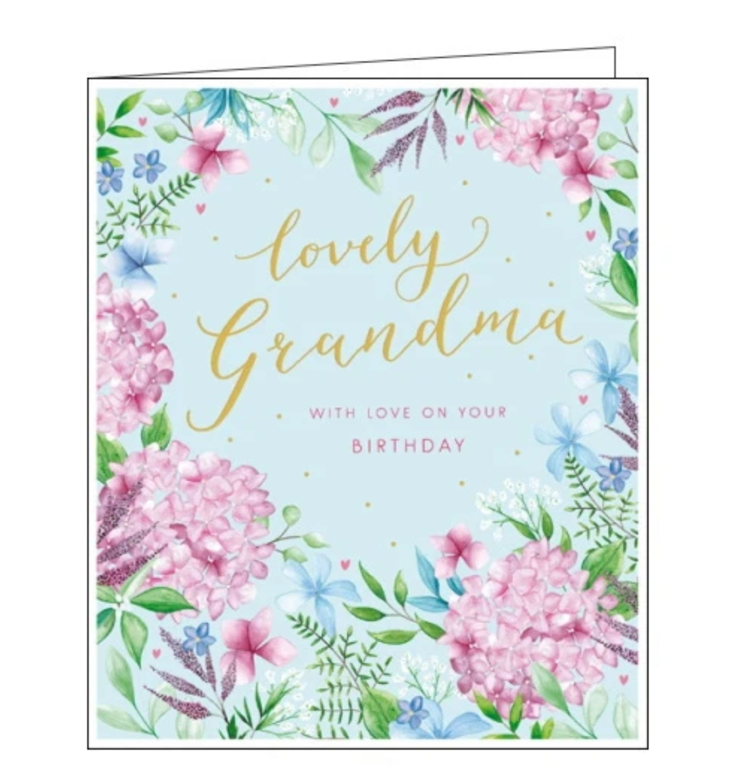 Lovely Grandma with love on your birthday