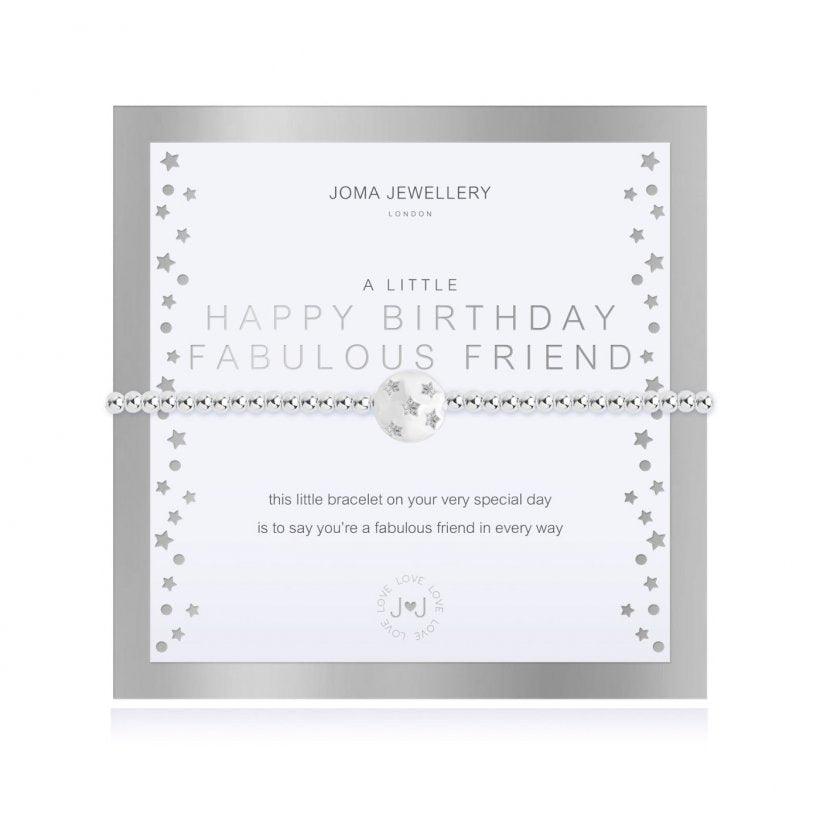 *NEW*    A LITTLE HAPPY BIRTHDAY FABULOUS FRIEND