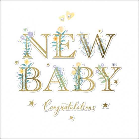Woodmansterne Congratulations New Baby Card
