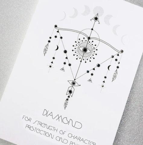 DIAMOND .....FOR STRENGTH OF CHARACTER, PROTECTION AND POWER