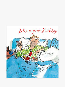 Relax on your Birthday