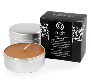 Saddle Scented Candles - Spicy, Rich, Smooth& Very Masculine