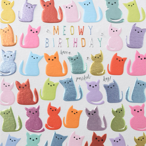 MEOWY BIRTHDAY.....have a purfect day