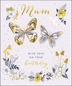 Mum with love on your birthday