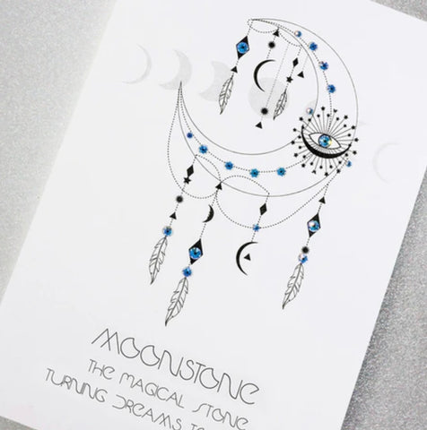 MOONSTONE ....THE MAGICAL STONE TURNING DREAMS TO REALITY