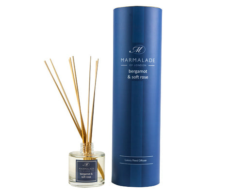 Bergamot & Soft Rose Reed Diffuser