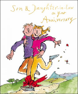 Son & Daughter-in-law on your Anniversary