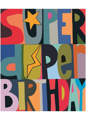 SUPER DUPER BIRTHDAY