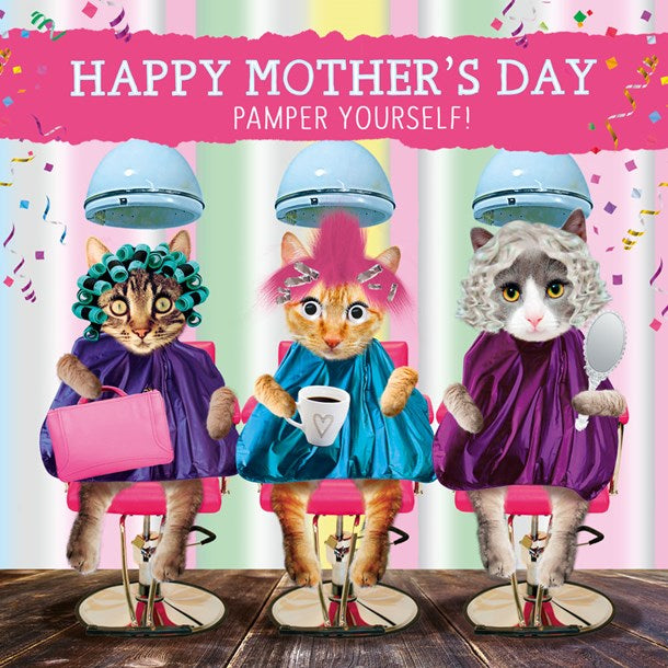 HAPPY MOTHER'S DAY PAMPER YOURSELF !